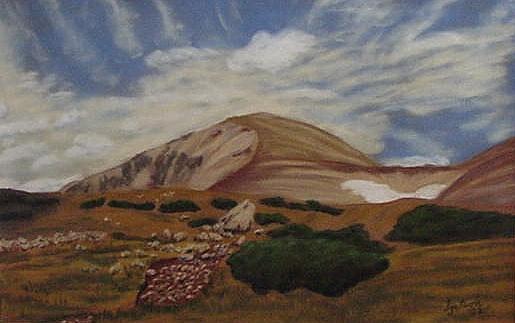 My Nemisis, Mt. Audubon
