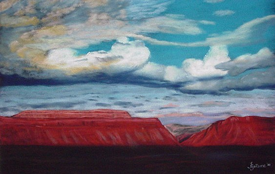 Sundown on Paradox Valley
